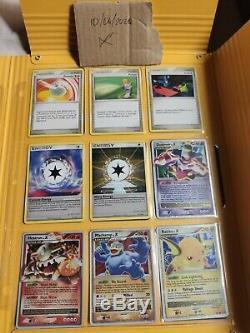 Pokemon Charizard Stormfront Complete set Shinings cards oldschool LV X pokemon