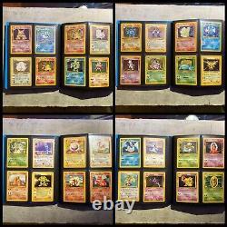 Pokemon Complete Base Set Cards Part Jungle/Fossil/Team Rocket PSA N Mint 4/102