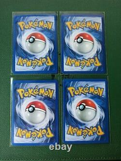 Pokemon Complete Gym Heroes Set 132 Cards Near Mint Moltres, Scyther, Gengar