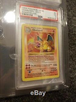 Pokemon Complete PSA Shadowless Holo Base Set Charizard Blastoise Venusaur Cards