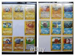 Pokemon Complete Set 1st Ed. VS Serie 140 Mint PSA 9/10 Cards Lance's Charizard