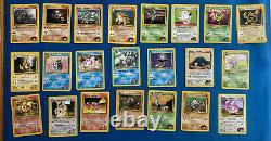 Pokemon Gym Heroes COMPLETE Card Set 1-132 + HOLOFOILS Blaines Moltres