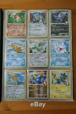 Pokemon Platinum Rising Rivals Mint/NM Complete Set 120/111 141 Cards UK Only