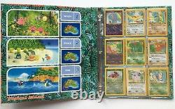 Pokemon Southern Islands Complete English Set 18 Cards binder