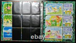 Pokemon Southern Islands Complete Set (18/18 Cards) NM in Binder with Postcards