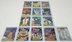 Pokemon Topps 1999 Series 1 Complete Base Set Lot of 76 Cards, 13 TV Series RARE