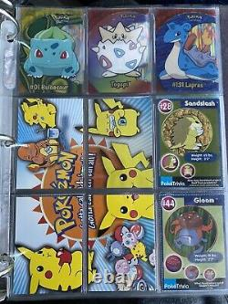 Pokemon Topps Complete Full Set Series 1 2 3 (151 cards) with Holos and Extras