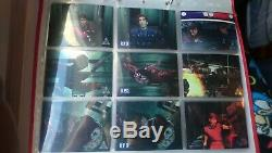 Resident Evil 2 Wildstorm Chromium Trading Card Collection COMPLETE SET