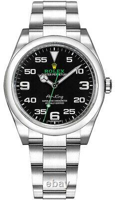 Rolex Air King 116900 40mm Oyster Steel Brand New Complete Set! New Card