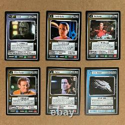 Star Trek CCG Complete Sets 3400 Cards, Reflections, Motion Pictures, Holodeck +