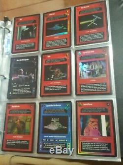 Star Wars CCG Complete Tournament Foil Set Near Mint 28 Cards Maul Qui Gon ISD