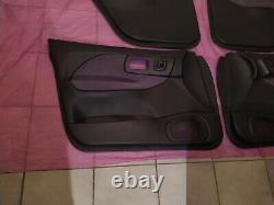 Subaru Impreza WRX STi GC8 GF8 4 Door cards Version 1,2,3 complete set