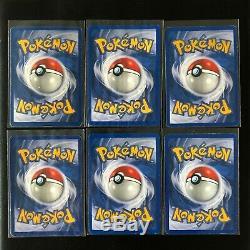 TEAM ROCKET unlimited 100% complete set 83/82 Pokemon Cards