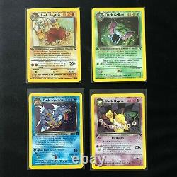 Team Rocket 1st edition set! NM Pokemon Cards Near Complete