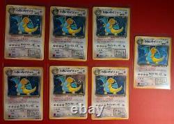 Team Rocket Complete 15 Card Holo Set Japanese Exc/LP Pokemon Dark Charizard