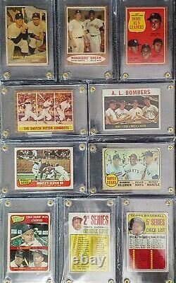 Topps Baseball Card Collection 65 Seasons 63 Complete Year Sets 24 Mantle Cards